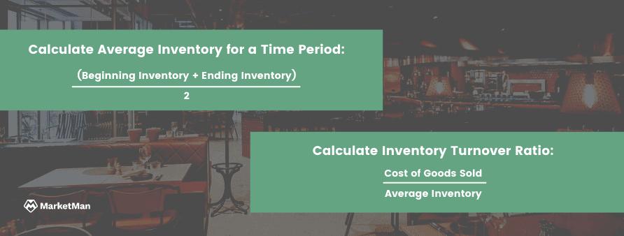 Inventory Turnover Ratio Formulas