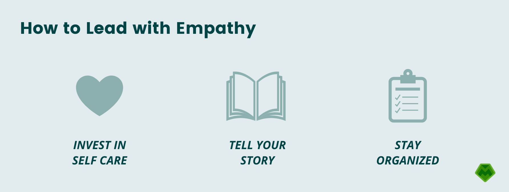 How to lead with empathy in restaurants: invest in self care, tell your story, stay organized