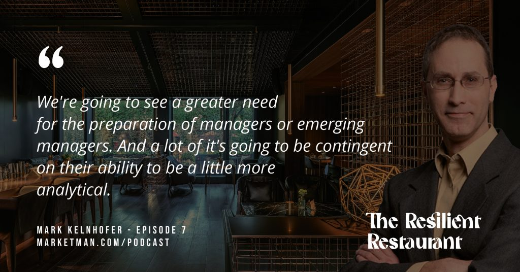 Mark Kelnhofer quote about importance of emerging managers