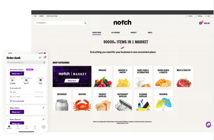 Notch_Buyer_Marketplace & OrderDesk