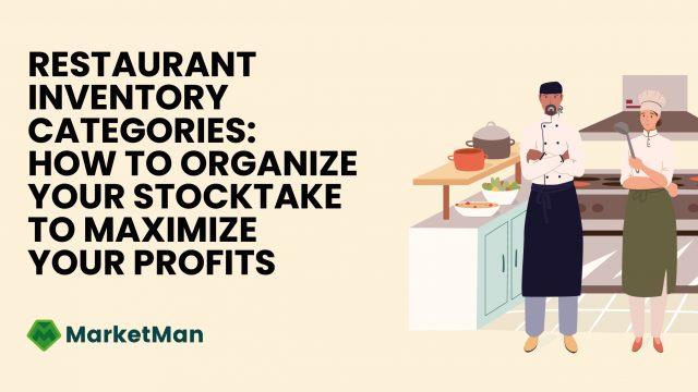 Restaurant-Inventory Categories-MarketMan
